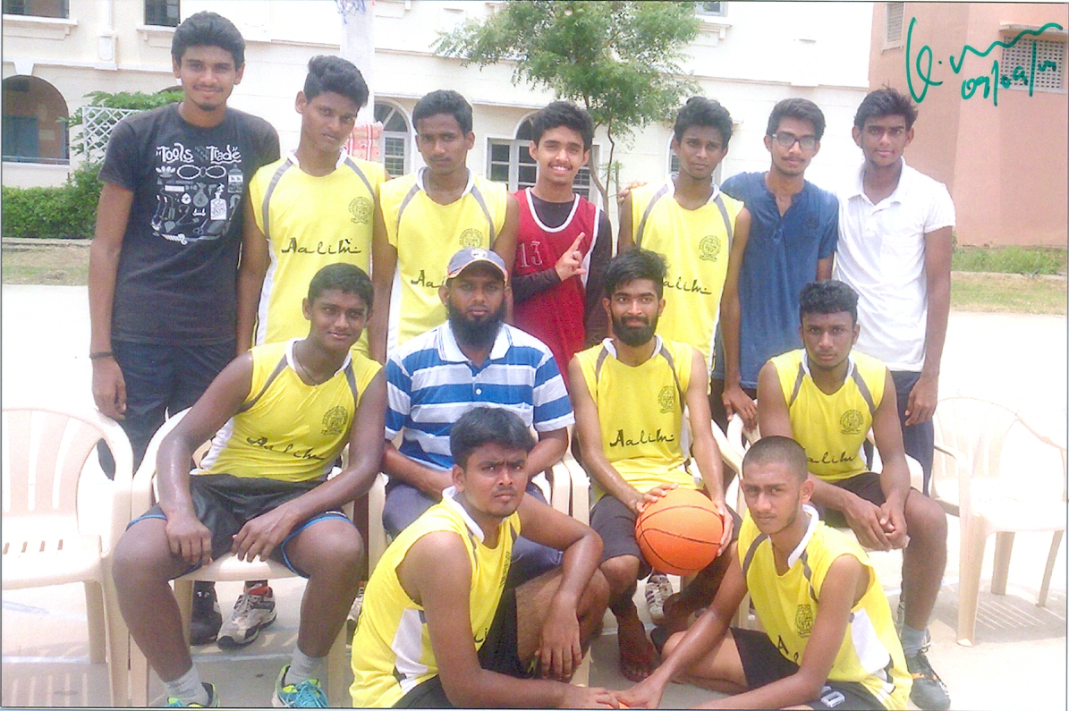OUR COLLEGE BASKET BALL TEAM