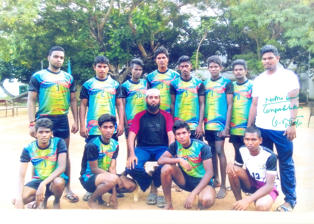 OUR COLLEGE KABADDI TEAM